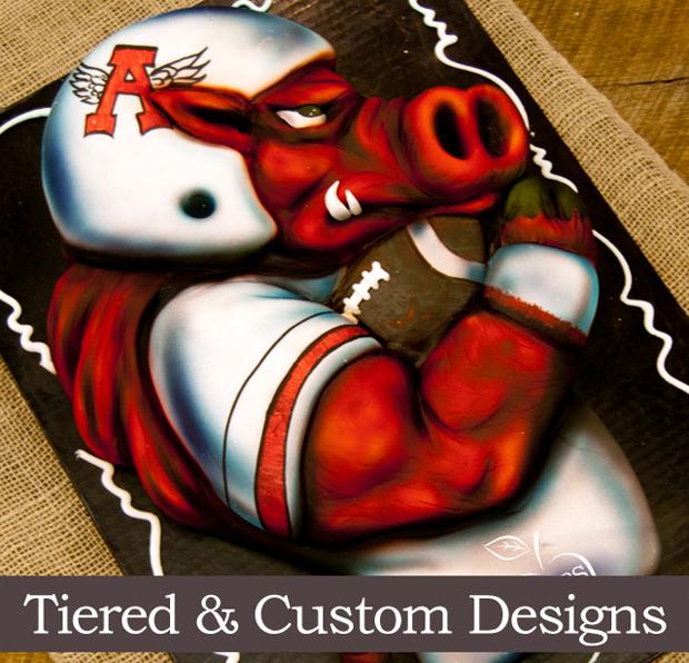Tiered & Custom Design Cakes