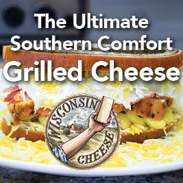 Ultimate Southern Comfort Grilled Cheese