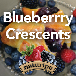 Blueberry Crescents