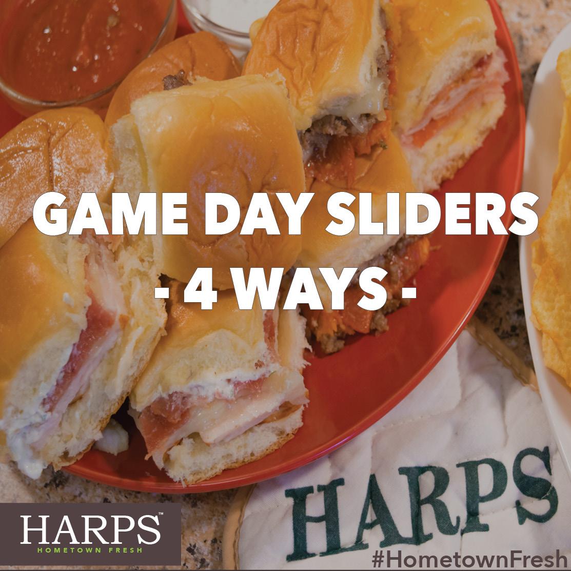 Gameday Sliders