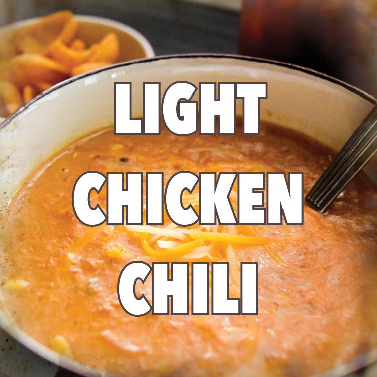 Light Chicken Chili