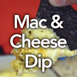 Cheesy Buffalo Ranch Mac & Cheese Dip