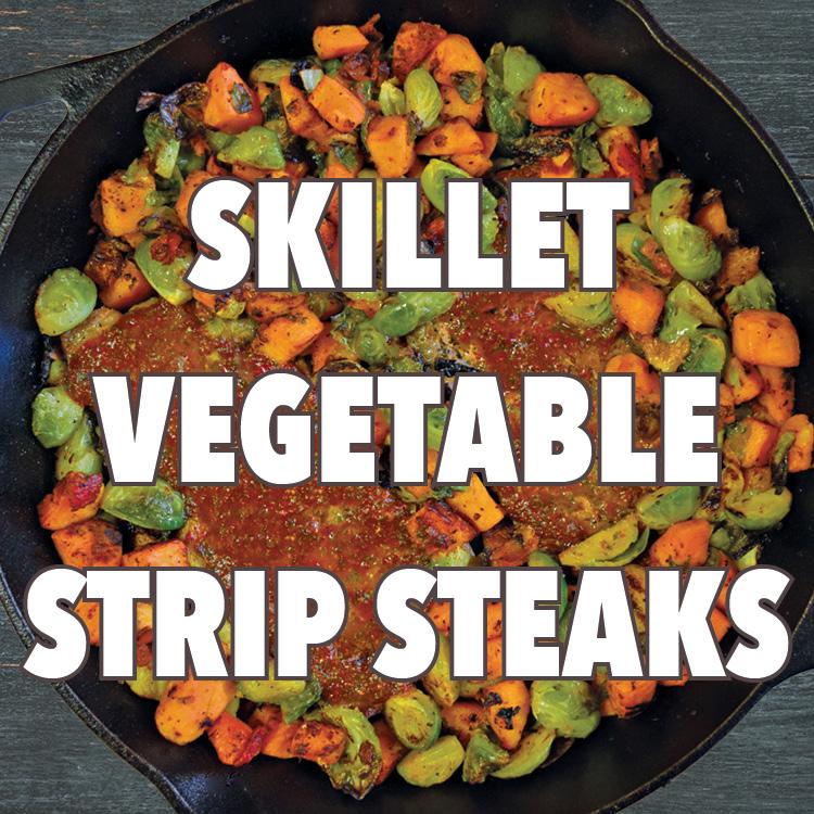 Skillet Recipe Strip Steaks