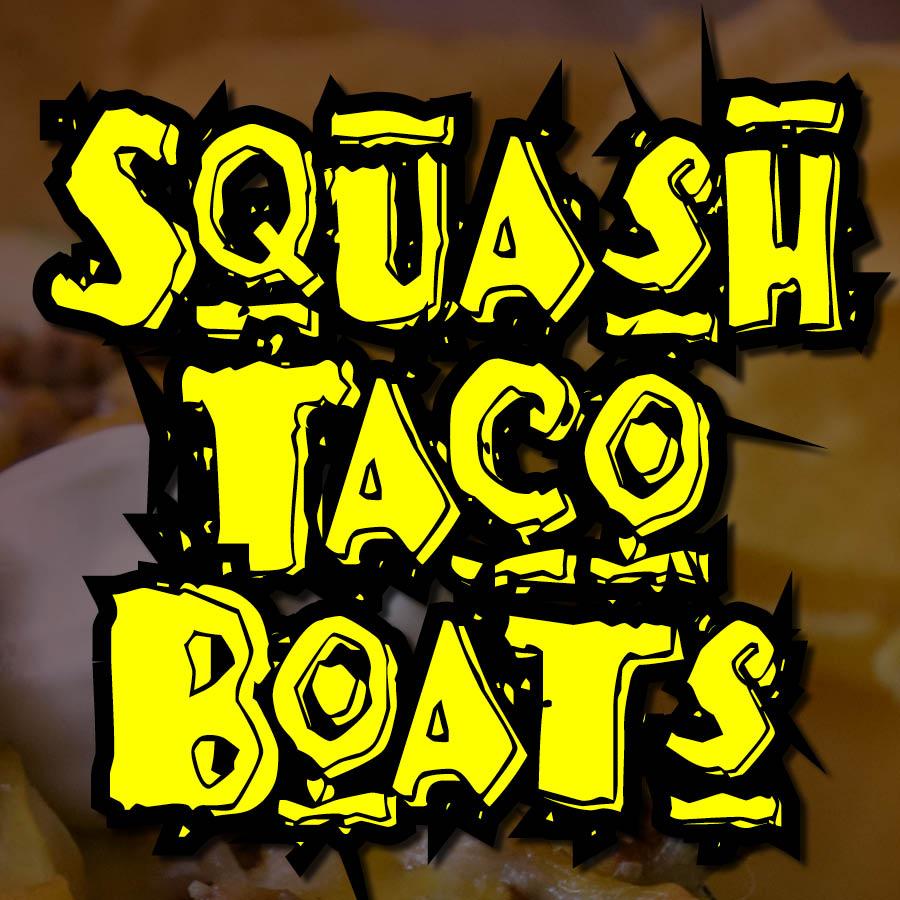 Squash Taco Boats