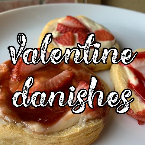 Valentine Danishes