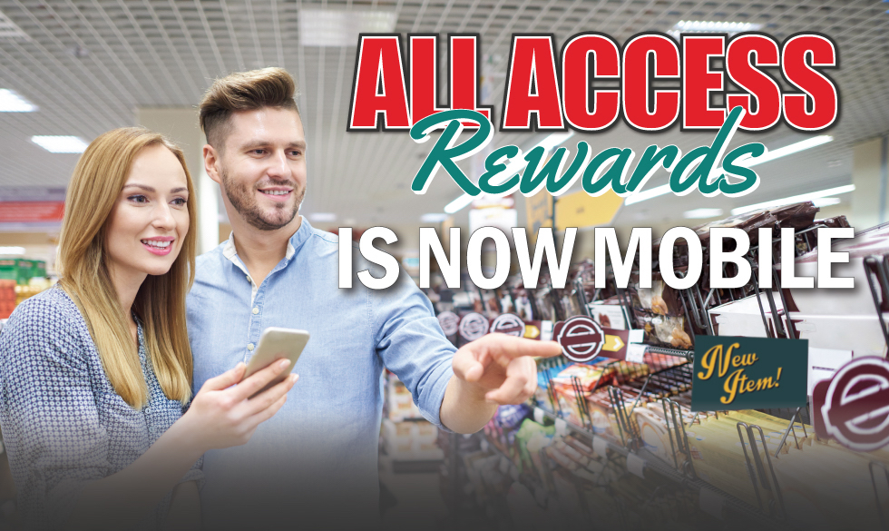 All Access Rewards banner