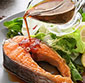 Picture of Columbia River Steelhead Salmon Steaks