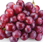 Picture of Extra Large Red Seedless Grapes