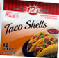 Picture of IGA Taco Shells