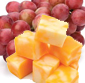Picture of Fresh Cuts Red Grapes & Cheese Chunks