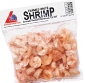 Picture of Landlocked Seafoods Cooked Shrimp or Wholey EZ Peel Wild Raw Shrimp