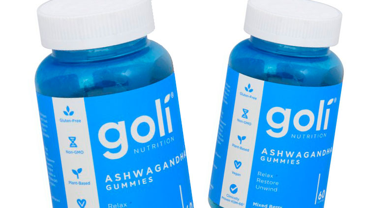 Picture of Goli Nutrition Aswagandha Gummies
