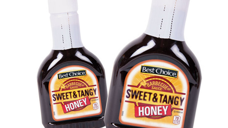 Picture of Best Choice BBQ Sauce or Sweet & Tangy Barbecue Sauce