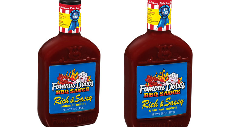 Picture of Famous Dave's BBQ Sauce