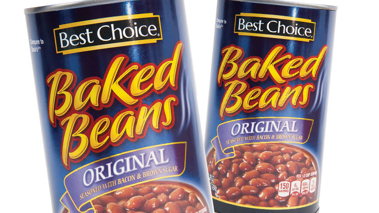 Picture of Best Choice Grill Style or Baked Beans