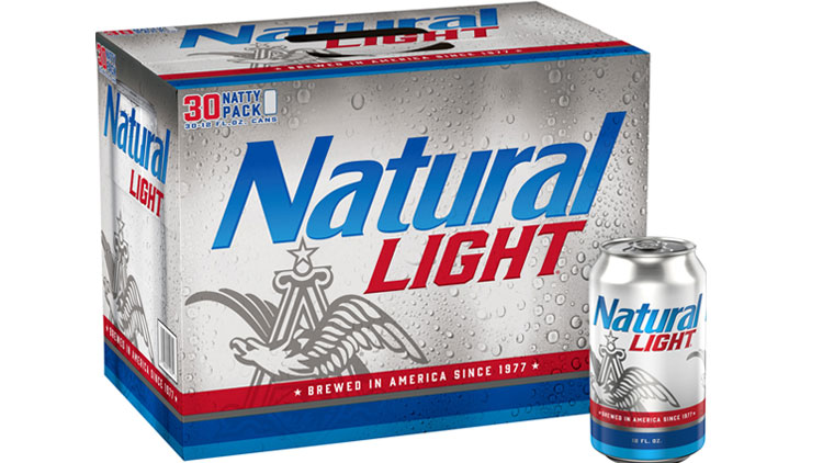 Picture of Natural Light Beer