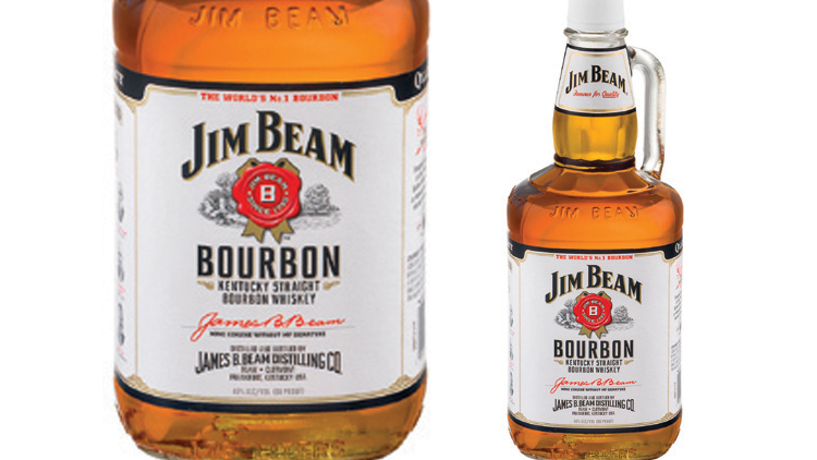 Picture of Jim Beam Bourbon Whiskey