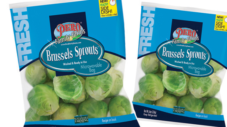 Picture of Pero Family Farms Brussels Sprouts or English Peas