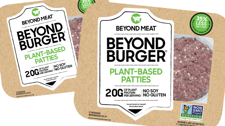 Picture of Beyond Meat Plant Based Burger Patties