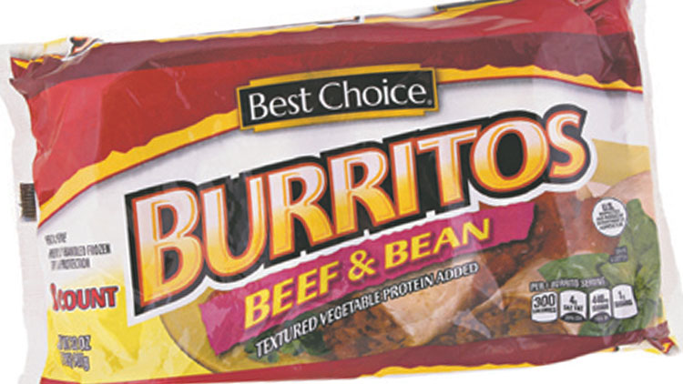 Picture of Best Choice Burritos