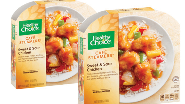 Picture of Healthy Choice Classics or Cafe Steamers