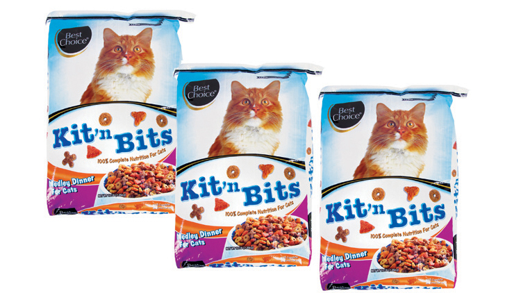 Picture of Best Choice Kit'n Bits Cat Food