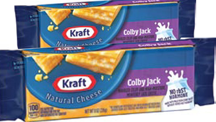 Picture of Kraft Natural Cheese Slices, Cubes or Cracker Cuts