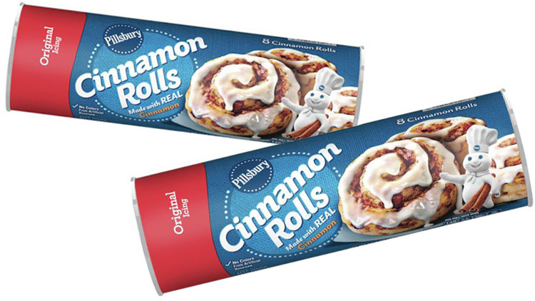 Picture of Pillsbury Sweet Rolls or Crescents