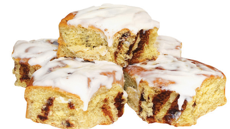 Picture of Iced or Old Fashioned Cinnamon Rolls
