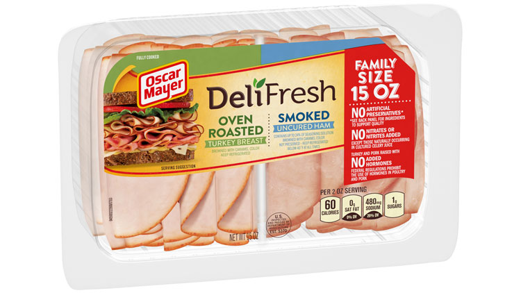Picture of Oscar Mayer Deli Fresh Sliced Meat