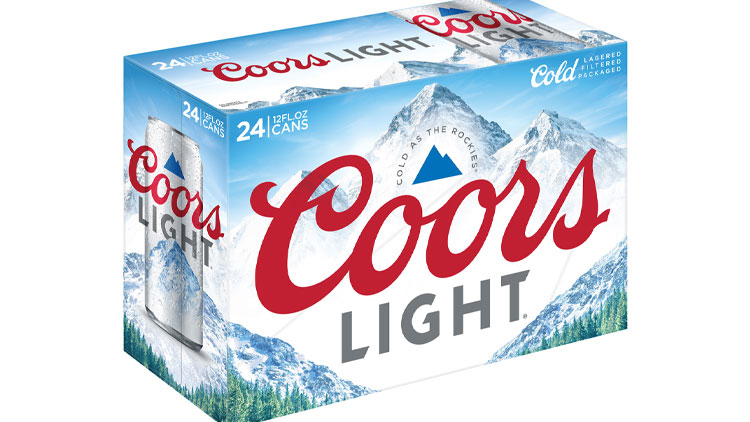 Picture of Coors or Coors Light Beer