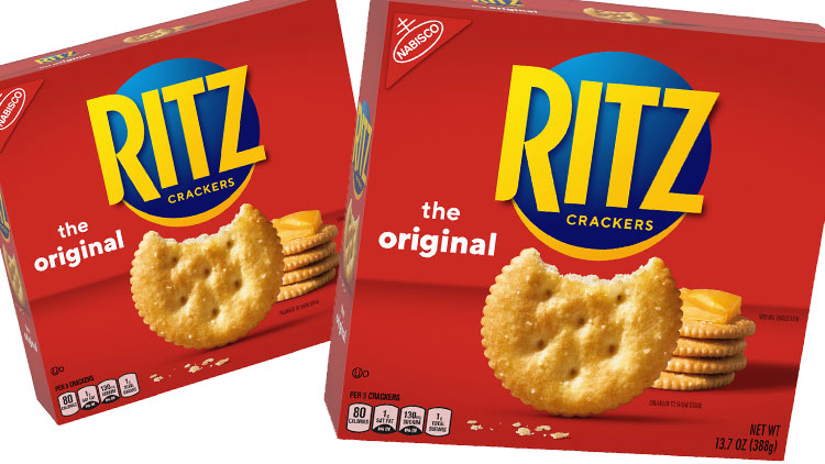 Picture of Nabisco Ritz Crackers or Chips Ahoy! Cookies