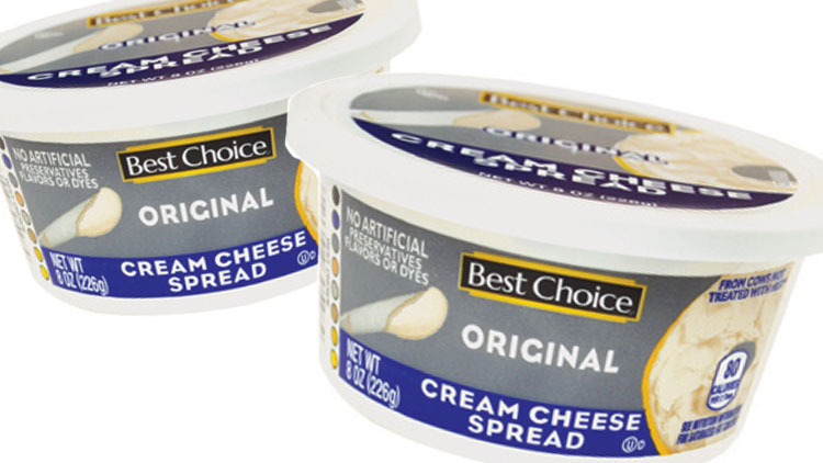 Picture of Best Choice Cream Cheese Spread