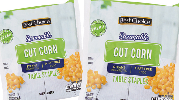 Picture of Best Choice Steamable Frozen Vegetables