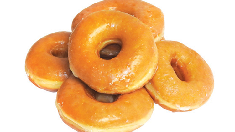 Picture of Fresh Doughnuts and Rolls