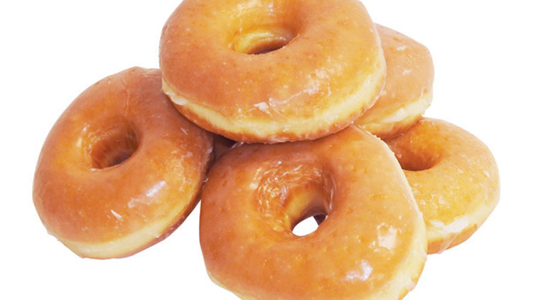Picture of Glazed Raised Doughnuts