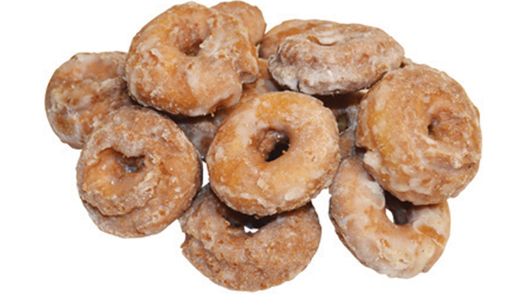 Picture of Old Fashioned Glazed Crackle Doughnuts