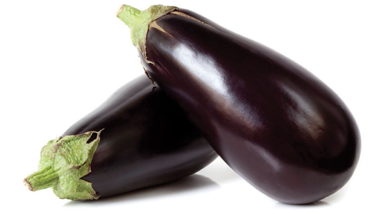 Picture of Eggplant or Yellow, Orange or Red Bell Peppers