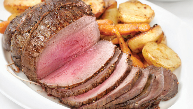 Picture of Boneless Beef Bottom Round or Eye of Round