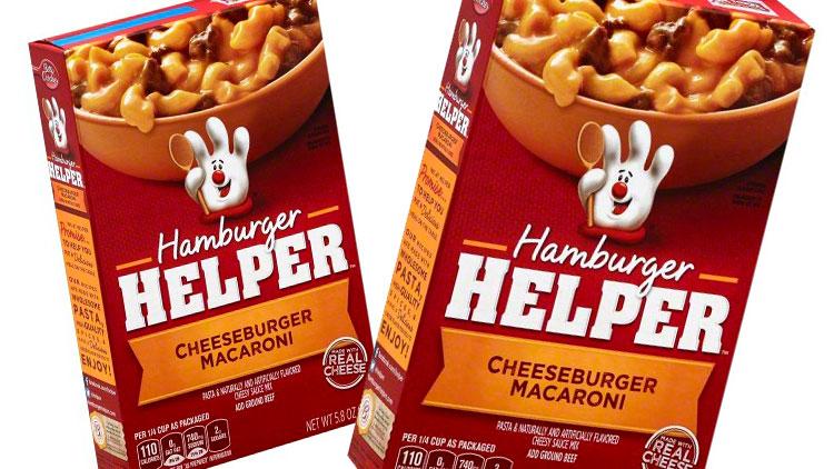 Picture of Hamburger, Tuna or Chicken Helper