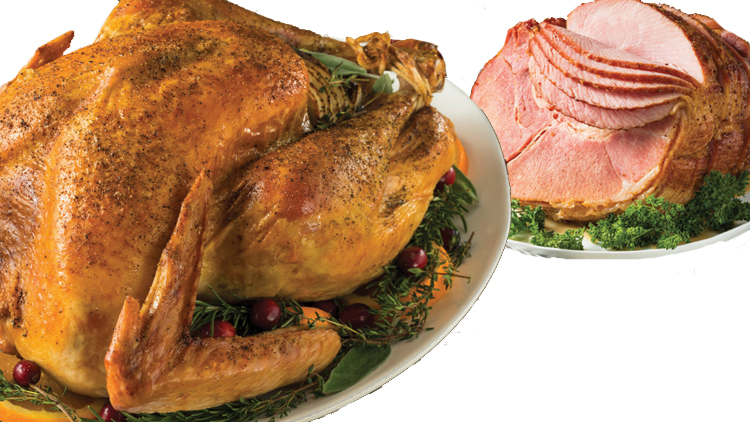 Picture of Complete Turkey or Ham Holiday Dinner