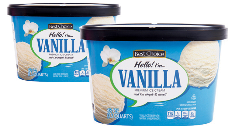 Picture of Best Choice Premium Ice Cream