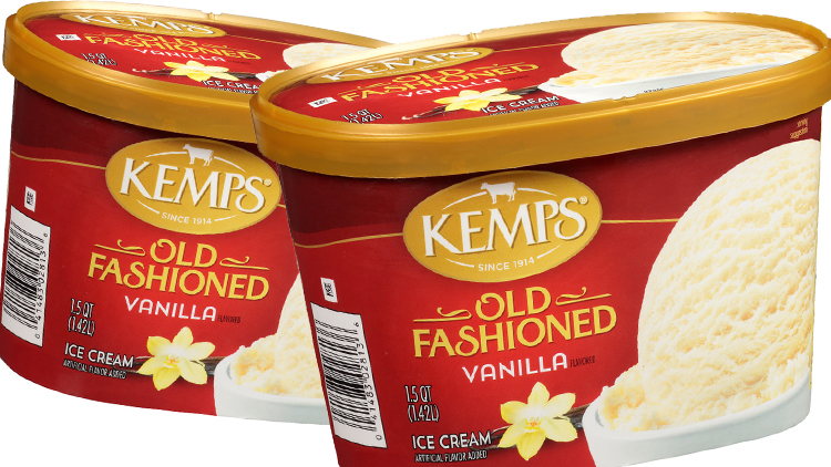 Picture of Kemps Old Fashioned Ice Cream, Frozen Yogurt or Sherbet