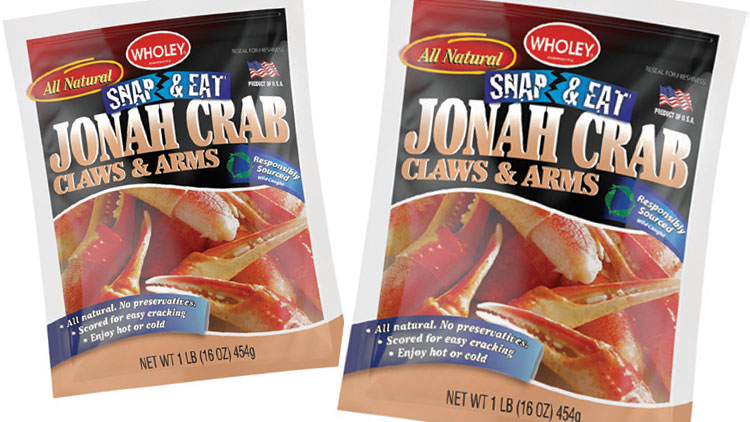 Picture of Wholey Snap & Eat Jonah Crab Claws & Arms