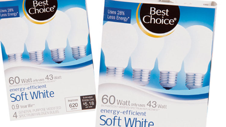 Picture of Best Choice Soft White Energy-Efficient Light Bulbs