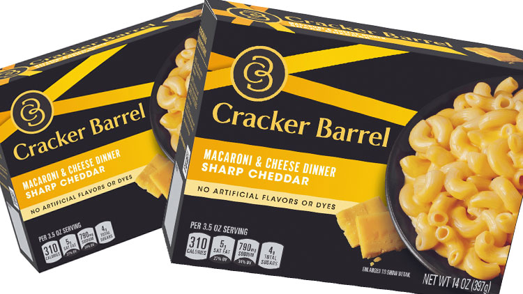 Picture of Cracker Barrel Macaroni & Cheese Dinner