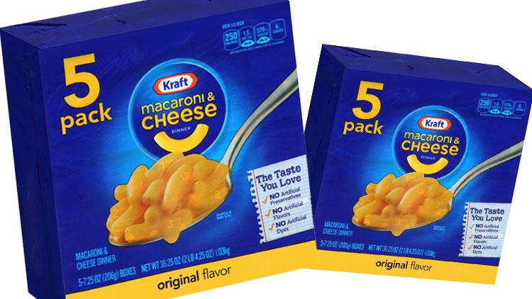 Picture of Kraft Macaroni & Cheese Dinner