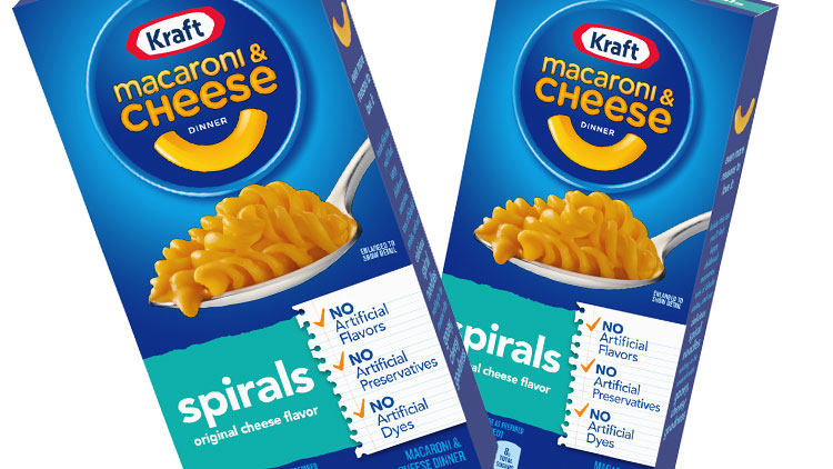 Picture of Kraft Macaroni & Cheese Dinner Premium or Shapes