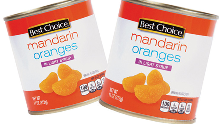 Picture of Best Choice Mandarin Oranges