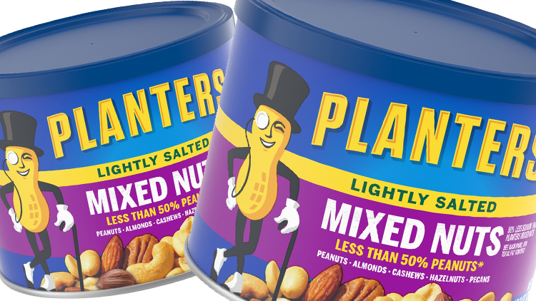 Picture of Planters Mixed Nuts or Cashews